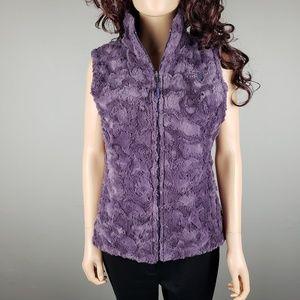 ✿❀ North Face Purple Reversible Winter Vest ❀✿